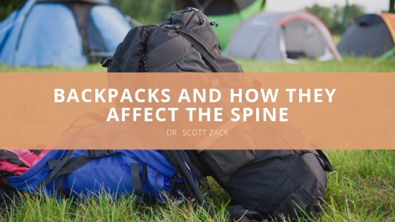 Scott P. Zack - Backpacks and How They Affect the Spine