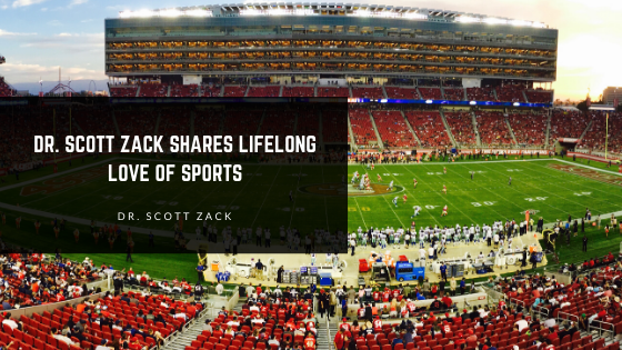 Dr. Scott Zack Shares Lifelong Love of Sports